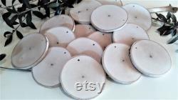 100 3 blanc naturel bouleau disques avec trous, tranches d arbre bouleau, les tags de nom, projets de bricolage, étiquettes cadeaux, mariages rustiques ornements