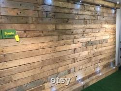 10 m Revêtement mural en bois Revêtement en bois de palette Sec, Denailed, Prêt à s adapter