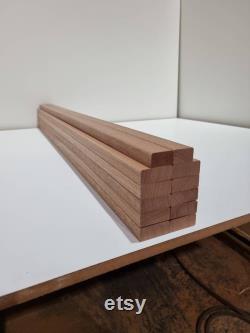 12 Lattes solides de banc de jardin de bois dur de Sapele 1220mm (4ft) 2 seater