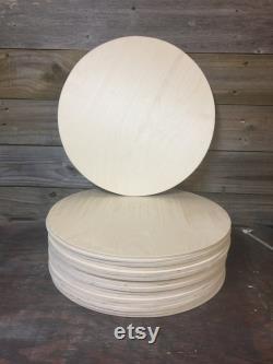 16 Pk de 15 x1 4 Ronds en bois inachevés Cercles Forme, Bouleau, Ronds de signe, Cintres de porte, prêt à peindre, Bricolage Cercles-Inférieur 48 états SEULEMENT