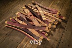 25 Staves de baril de vin (Ensemble plein de baril)
