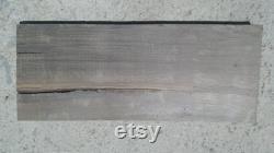 29 pouces Bog Oak Board Taille 29'' x 12'' x 1.5'' (730mm 300mm x 37mm) Planche de chêne noir avec noeud et fissures