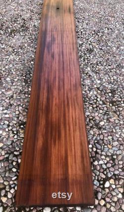 6ft. Reclaimed Old Growth Redwood Lumber 72 x 7 x 1 1 4 Bois en détresse Bois rustique