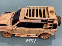Art du travail du bois WA03 Special Built 2021 Land Rover Defender 110 X Voiture en bois