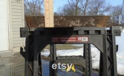 Black Walnut Live Edge Lumber Slab Kiln Dried Figured Shelf Art Craft Project 80 Long 19 1 2 Max Width 1 3 8 Épais poncé