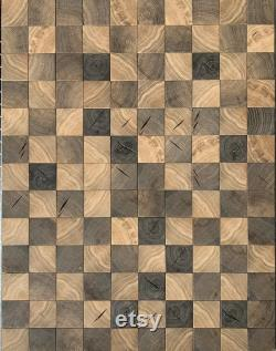 Bog Oak , Mosaïque, Panneau, Wall Deco, Board, Board,Morta,Bohle, Mooreiche,Sculpture, Bijoux,