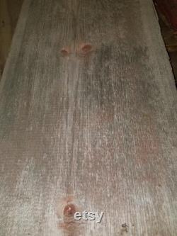 Bois de grange Grange rustique planches de récupération des années 1800 grange en bois patiné 16 pieds carrés