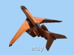 Bombardier Global 7500 Mahogany modèle artisanal