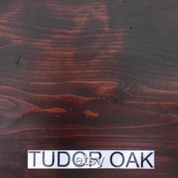 DIY Table en pin massif Rustic Solid Wood Office Desk Worktop Counter Coffee Side Table Top