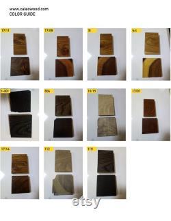 Dalle de Burl, Burl d orme, Dalle de bois, S60, Elmwood, en stock