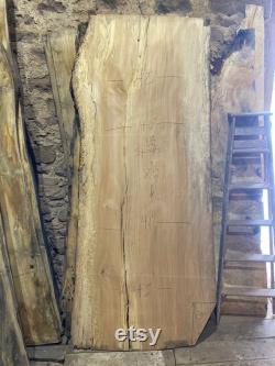 Dalle de bois. Dalles de bois de bord vivant. Table de dalle de bois. Table basse en bois de dalle. Dalles de bois à vendre. Dalle de bois de sycomore très large de 8 pieds.