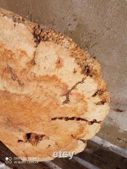 Dalle de burl, bois d érable de dalle, dalle d érable, dalle de bois, dalle de table 265