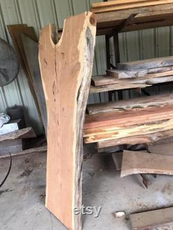 Dalle de cèdre rouge, dessus de bar, bord vivant, dalle supérieure de bureau, dalle large 3 d épaisseur, table basse, sciage rugueux, bois époxy, planche de bord en direct, coupe d entrejambe