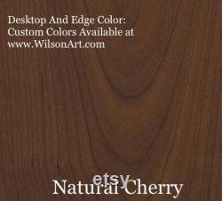 Dessus de bureau de jeu, dessus de table seulement, dessus en bois stratifié de bois de cerise, surface supérieure seulement. Stratifiés Wilsonart ultra durables. Livraison gratuite