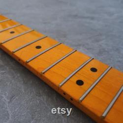 Electric Guitar Neck- Maple Fretboard Tele Finition jaune