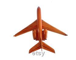 Gulfstream G500 G600 19,5 x 18,5 x 8.5 Avion fait main en bois