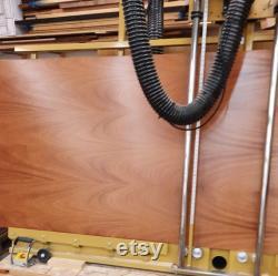 Khaya Acajou 6 pièces 1 8 MDF Core Hardwood Contreplaqué Préfini UV finition des deux côtés 12 x20 Laser Glowforge bois 6 feuilles proofgrade