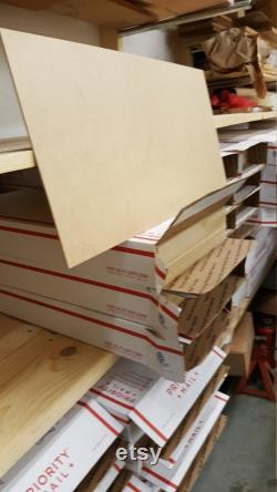 La boîte BIG 55pc GF Matériaux 1 8 MDF Draftboard 3mm 11 x19.5 Glowforge Glow Forge 11x19.5 planche à projet