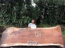 Live Edge Parota Wood Slab (Costa Rica)