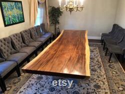 Live bord acacia dalle de bois dalle table à manger magasin de meubles de table dans le comté de Fairfax virginia va pour le bois massif meubles de salle à manger