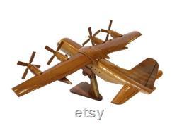 Lockheed C130 hercules Avion militaire Avion de transport militaire en bois 16 x 18 x 9