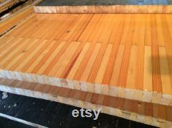 Morceaux de bois de Bowling voie régénérée idéal pour les tables, comptoir, bureau, bar, table de conférence, îlot de cuisine, tables, ECT de la ferme.