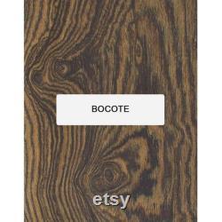 Pack de 10 planches de bois d uvre exotiques minces de la taille 1 2 X 1-1 2 X 16 , Panneau de bois mince approprié pour l artisanat en bois