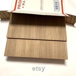 Pack mixte de noix 5 pièces 1 4 et 10 pièces 1 8 contreplaqué Glowforge Taille Bois Laser Fournitures de travail du bois inachevé