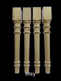 Pin noueux Table de 29'' pieds Style 1262