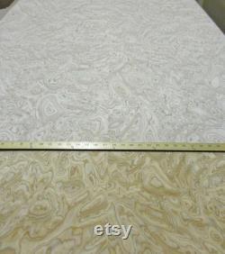 Placage composite en bois Olive Ash Burl 48 X 96 Avec support papier 1 40Th Épais