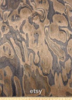 Placage en bois composite Burl walnut 24 X 48 avec dos de papier 1 40Th Épaisseur