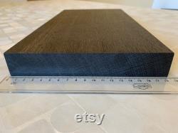 Planche de chêne de tourbière 349x184x30 mm en une seule paix (pas de joints collés)