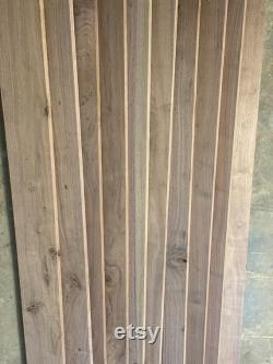 Planches en noyer 10 pack 48 x5 x3 4 Straight, Accent Wall, Lumber, Exotic Wood, Craft Wood, Walnut Lumber, Free Shipping