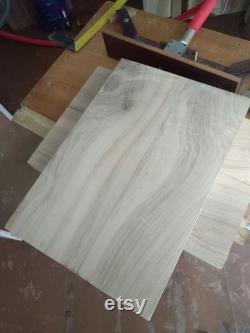 Plateau de table en panneau de dalle de chêne