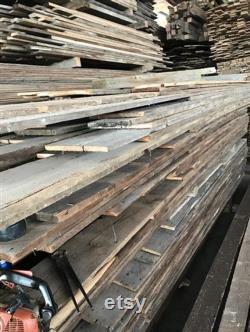 Reclaimed Brown Board Barn Wood Hardwood Pine Wall Siding Panels Planches Lumber, Commande personnalisée Message de citation, Bois récupéré