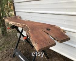 Sanded Mesquite Wood Blank Slab prêt pour tout projet de bricolage Woodworking Supply