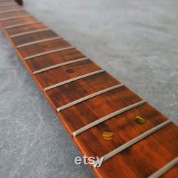 Strat guitare électrique Neck Tiger Flame Maple 21 fret ST