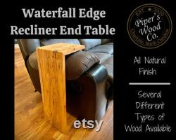 Table d extrémité inclinable Waterfall Edge Table waterfall Table inclinable Table d extrémité
