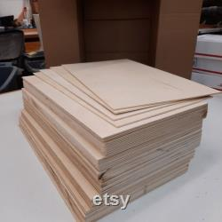 The BIG box 60pc GF Materials 1 8 Baltic Birch Contreplaqué 3mm 11x19.5 12x19.5 Glowforge Glow Forge