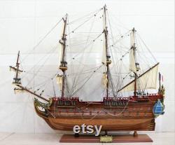 The Unicorn La Licorne Model Ship Fran ais marine royale Wooden Model Ship Taille 32