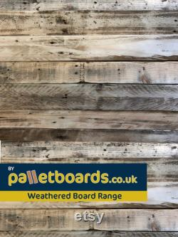 VENTE Pack 5m2 SANDED Sustainable Unique Quality Reclaimed Pallet Boards Business and Domestic Use