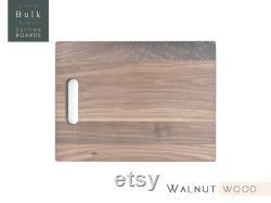 vente 10 planches à découper de bois franc de noyer avec poignée, bois de noyer, quantités limitées, remise en vrac, ébauches, bricolage, ébauches laser, gravure